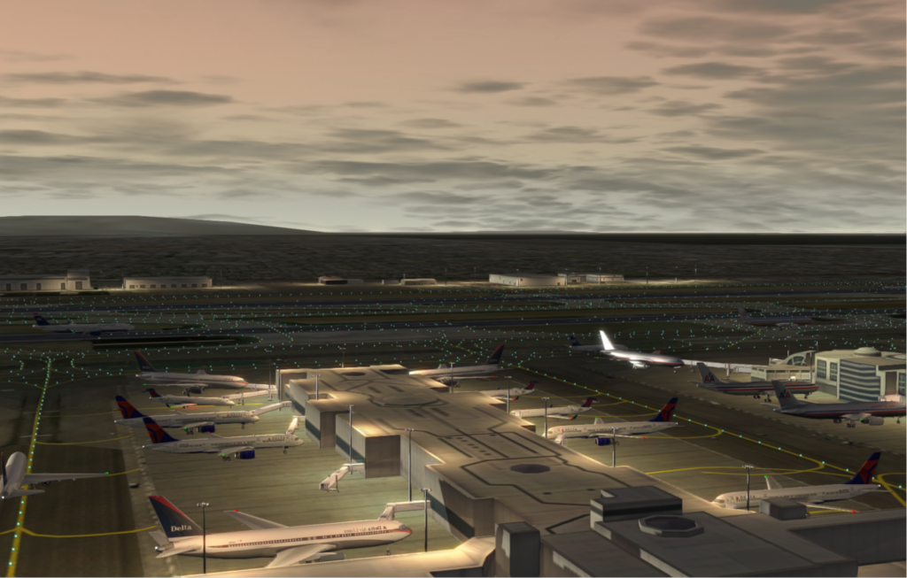 KLAX Lighting