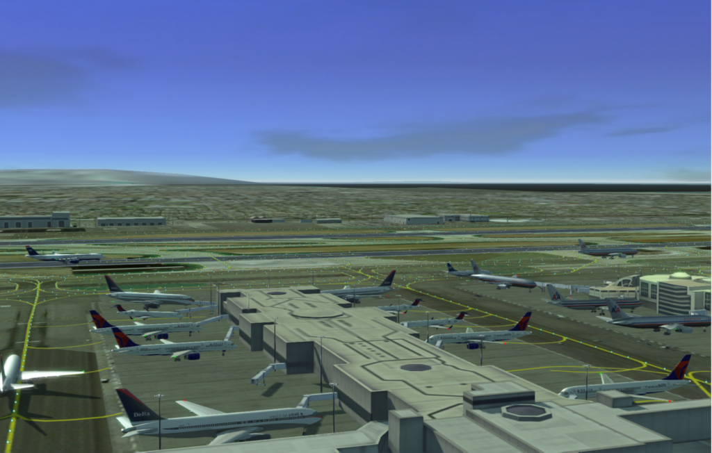 KLAX Partially Cloudy