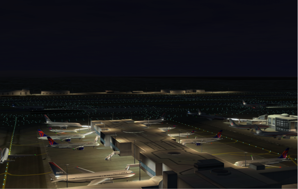 KLAX Terminal : Night