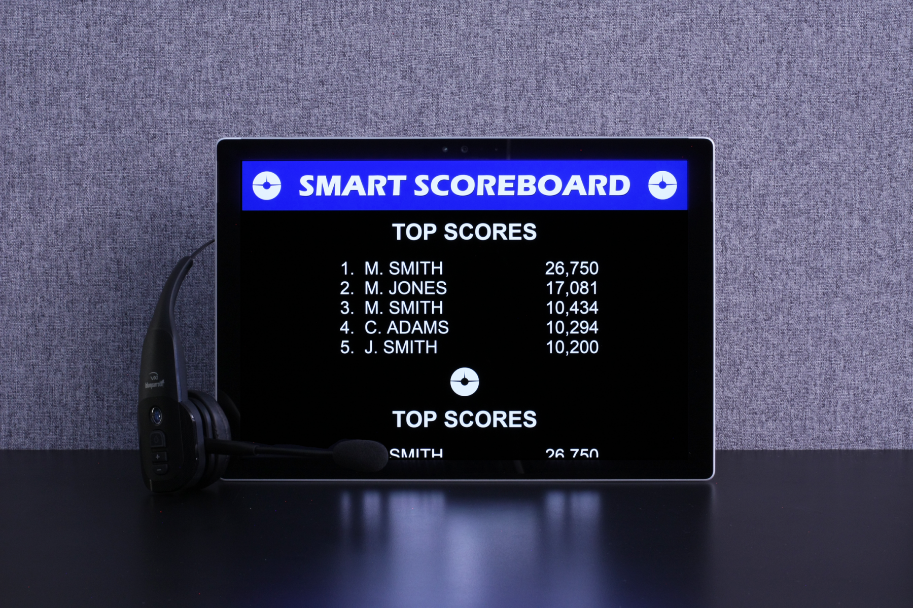 SMART Part Task Trainer - Competitive Scoreboard