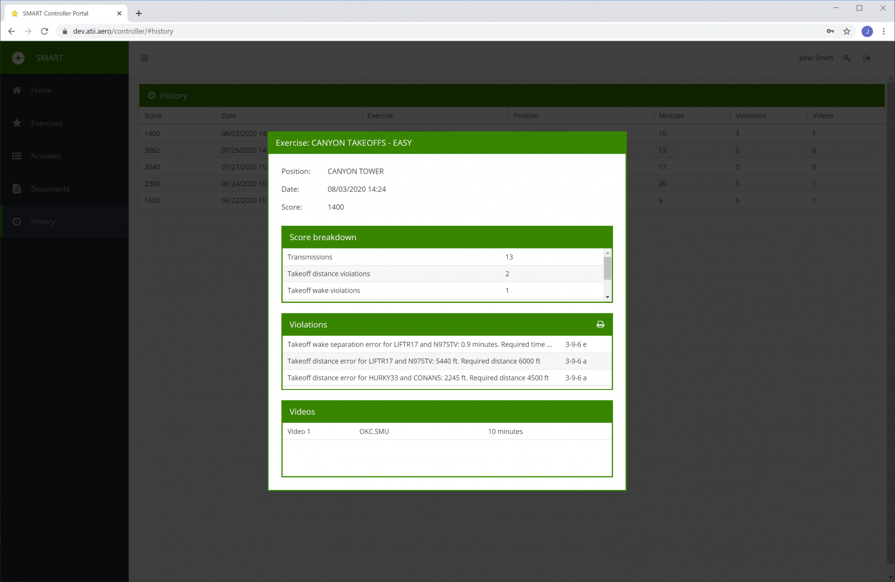SMART Student Portal - Completed Exercise
